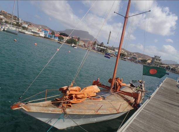 Tara Tari et Capucine au Cap Vert